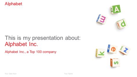 Alphabet Powerpoint Template Presentationgo Com Powerpoint Template Size In Mm