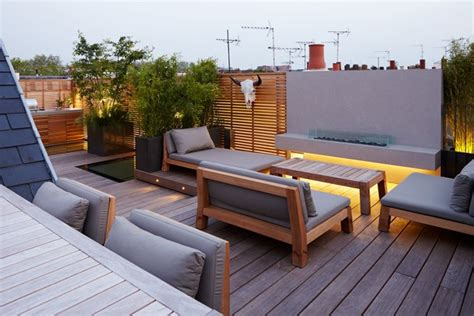 Backyard Landscaping With Fire Pit - urban jungle how to turn your terrace into an oasis