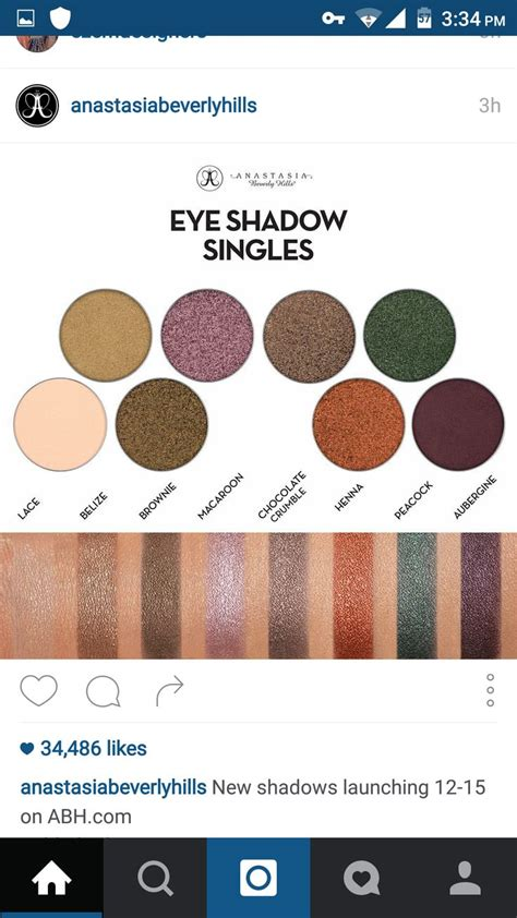 Eyeshadow Abh abh eye swatch abh eyeshadow single swatches
