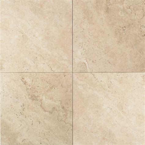 daltile natural stone collection baja cream 16 in x 16 in travertine floor and wall tile 10