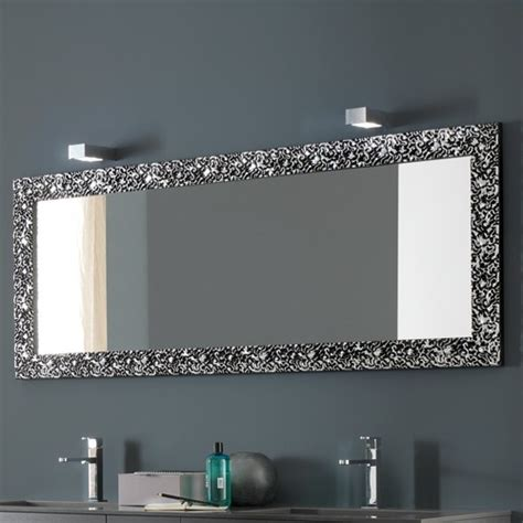 azzurra riccioli horizontal mirror modern bathroom