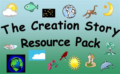 tes new year story resources the creation story resource pack by