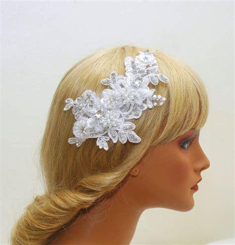 Wedding Hair Accessories Lace Dress by Bridal Headband Wedding Lace Headpiece Wedding