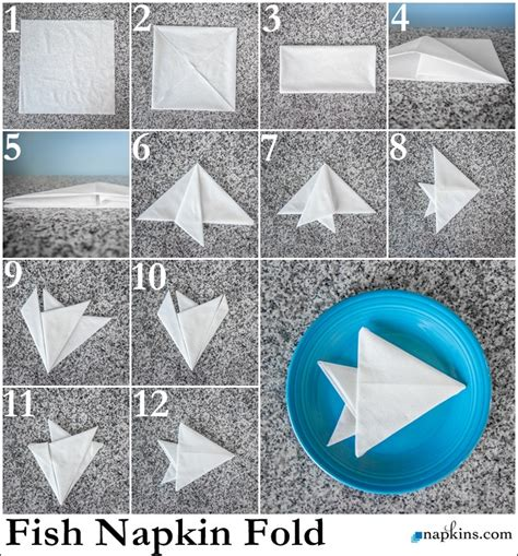 How To Fold Paper Napkins In A Fancy Way - paper napkin folding fancy napkin folds napkins
