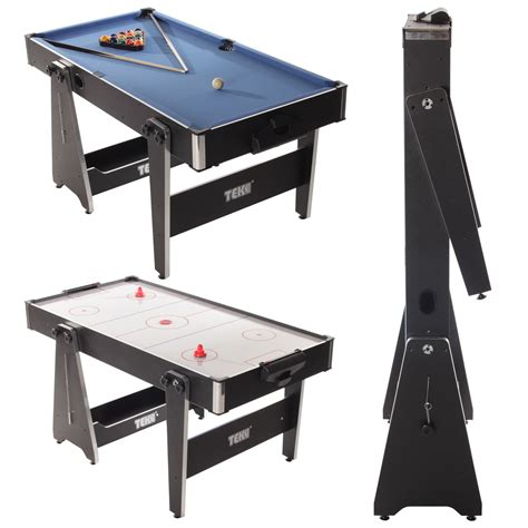 5ft Folding Pool Table Tekscore 5 Foot Folding Leg Multi Table Liberty