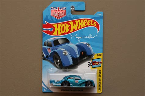 hot wheels  legends  speed volkswagen kafer racer beetle blue magnus walker