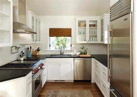 popular kitchen paint color ideas for small space with white cabinet and neutral wall