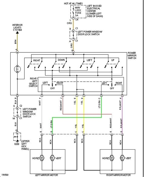 modore power window wiring diagram wiring automotive