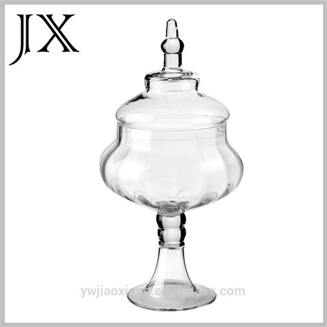 cheap glass jars for buffet wholesale glass jar with lid for sweet buffet