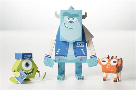 Paper Toys - momot paper momot world