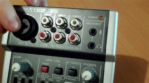 Daftar Mixer Audio Behringer behringer xenyx 302usb audio mixer teardown