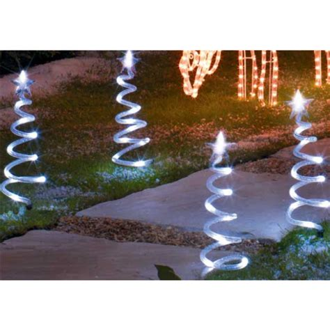 mini christmas tree path finders from argos outdoor