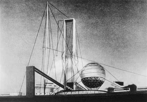 Design Kitchen Appliances Ivan Leonidov S Proposal For The Lenin Institute In Moscow
