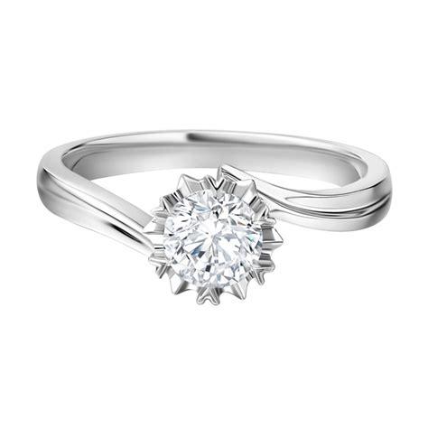 Cincin Diamonds jual tiaria snowflake cincin tunangan berlian emas 18k harga kualitas