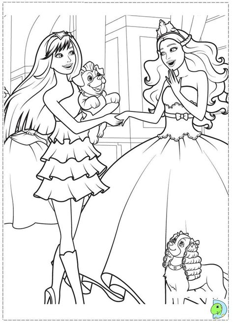 coloring pages barbie princess princess barbie coloring page az coloring pages