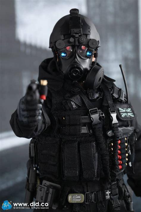 toyhaven: DID Corporation 1:6 scale British Special Air Service (SAS) B Squadon Black Ops Team
