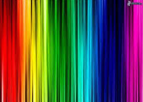 color of a rainbow rainbow colors