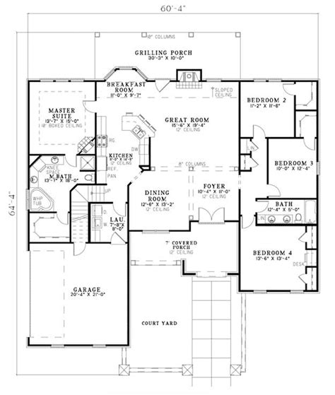 montreaux rustic home plan 055d 0782 house plans and more