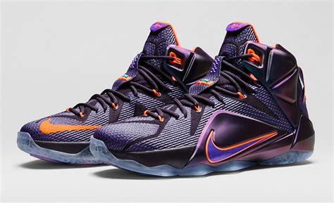 Sepatu Basket Lebron 12 Instinct nike lebron 12 instinct official images sole u