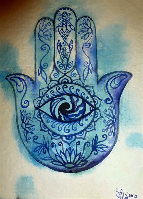 hamsa healing hand this would make a beautiful tattoo