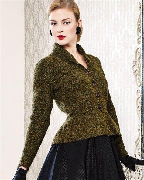 peplum knitting patterns peplum jacket from debbie bliss magazine 11 at