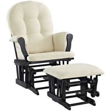 line glider and ottoman line glider and ottoman black finish and