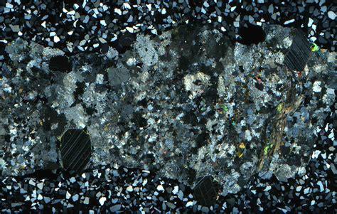 corundum in thin section thin section scans rockptx