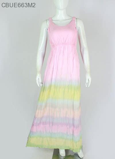 Gamis Batik Pelangi baju dress batik pelangi katun dress murah batikunik