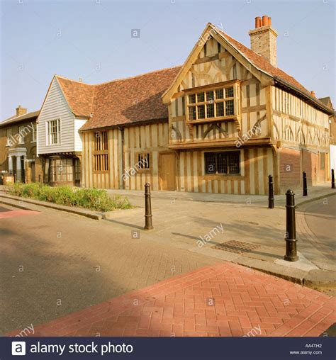 buying a grade 2 listed house the ancient house a grade 2 listed 15th century timber framed hall in stock photo