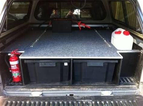 Ute Drawer Plans by Ute Tray Cing Setup Drawer Search Cing