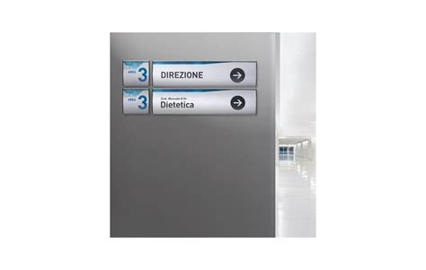 cartelli ufficio sign cm 45x15 segnaletica modulare in alluminio