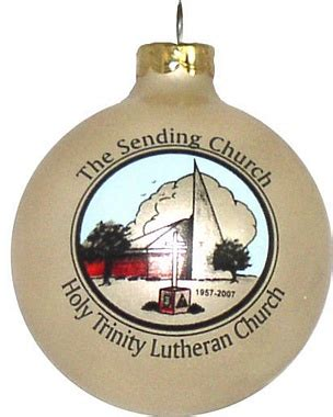lutheran church ornament for fundraising