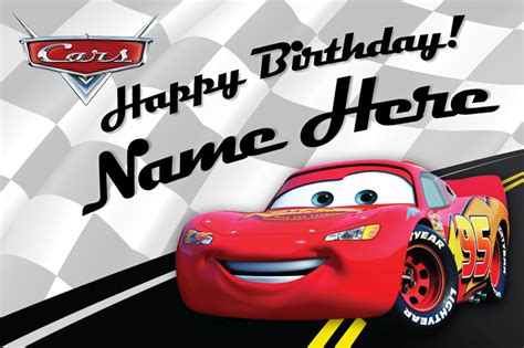 printable birthday cards cars disney cars birthday cards printable infocard co