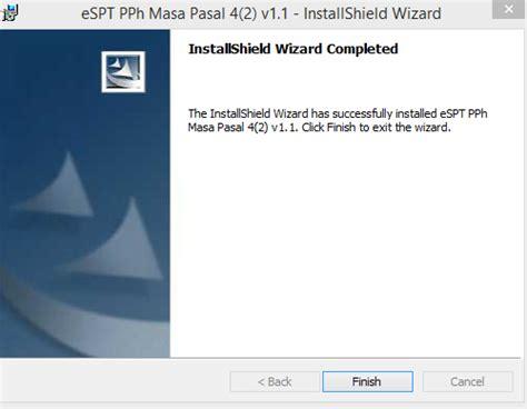 membuat database espt pph 4 ayat 2 cara install aplikasi espt pph masa 4 ayat 2