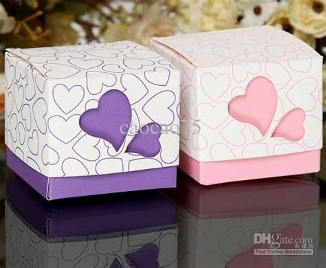 Candybox Paperbag Tingjing Wedding Sangjit wedding favor boxes gift paper bags boxes colored hollow out wedding box