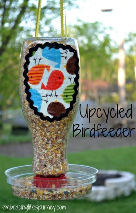Tempat Makan Burung Dari jangan buang botol plastikmu ubah mereka jadi hiasan yang