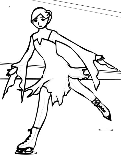 Ice Skating Coloring Pages Coloring Pages To Print Coloring Pages Skating