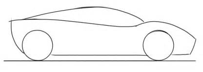 simple car template car drawing tutorial for sports car side view