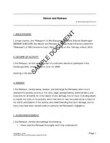 injury disclaimer template service liability disclaimer template