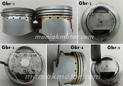 Pen Bell Motor Mio tips motor bore up mio harian 150 cc pakai piston gl max