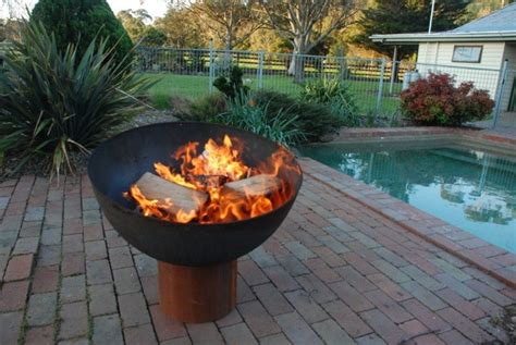 unique fire pits bbq fire pits the goblet