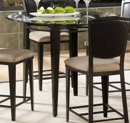 Counter Height Glass Top Dining Table Homelegance Rockdale Counter Height Dining Table With 45in Glass Top 6630 36