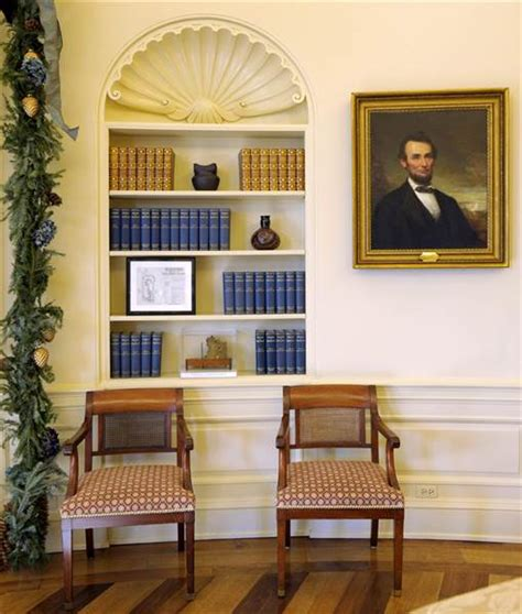 obama oval office decor obama adds his style to oval office decor today com