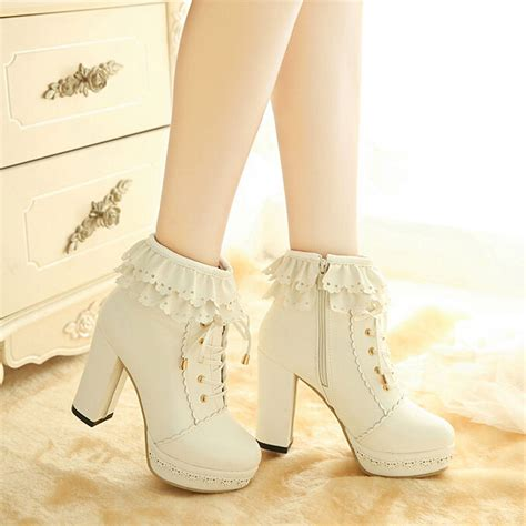 Mm Sweet Lace sweet lace high heeled shoes 183 fashion 183