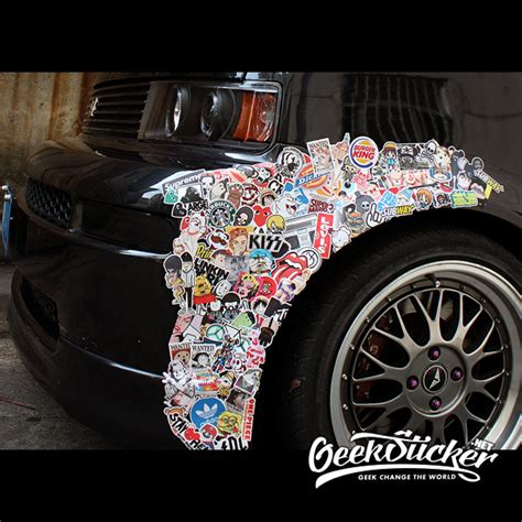 Auto Sticker Bomb by Supreme Shoes Sticker Bomb Car Styling Cartoon Waterproof