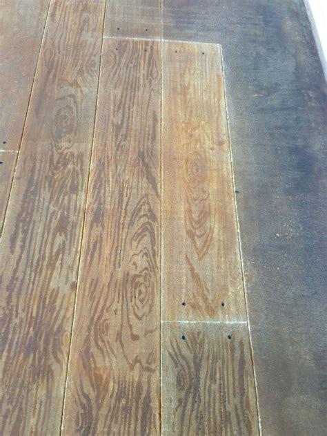 faux wood floors lafayette la concrete faux wood stained concrete