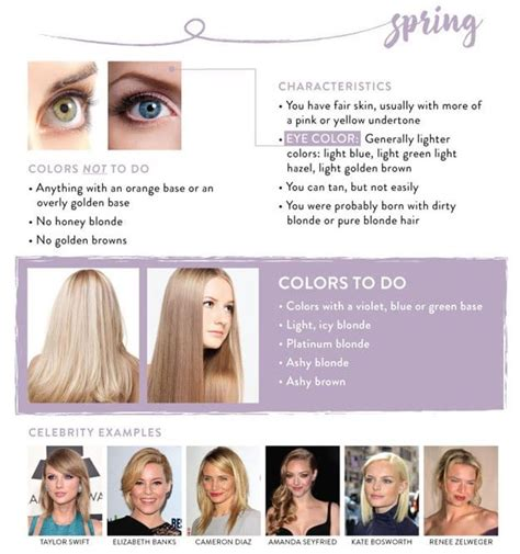 hair color for cool skin tones best chart for blonde hair color chart guide to the best color for your skintone