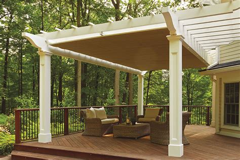 Retractable Pergola Canopy In Morris Plains Shadefx Canopies Pergola With Retractable Canopy