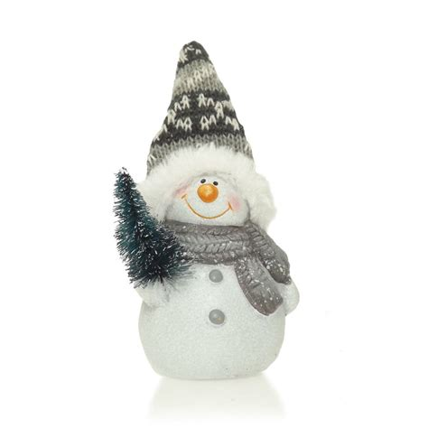 buy grey snowman ornament