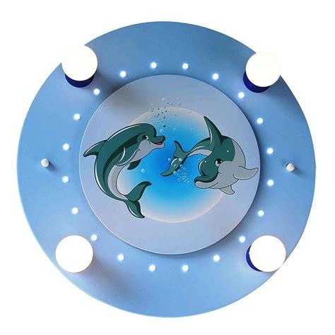 deckenleuchte kinderzimmer blau kinderzimmer deckenleuchte mit niedlichen delfinen in blau